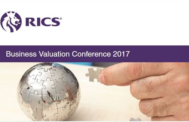 RICS Business Valuation Conference 2017