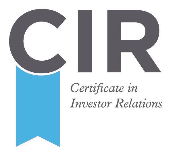 Certificate in Investor Relations
