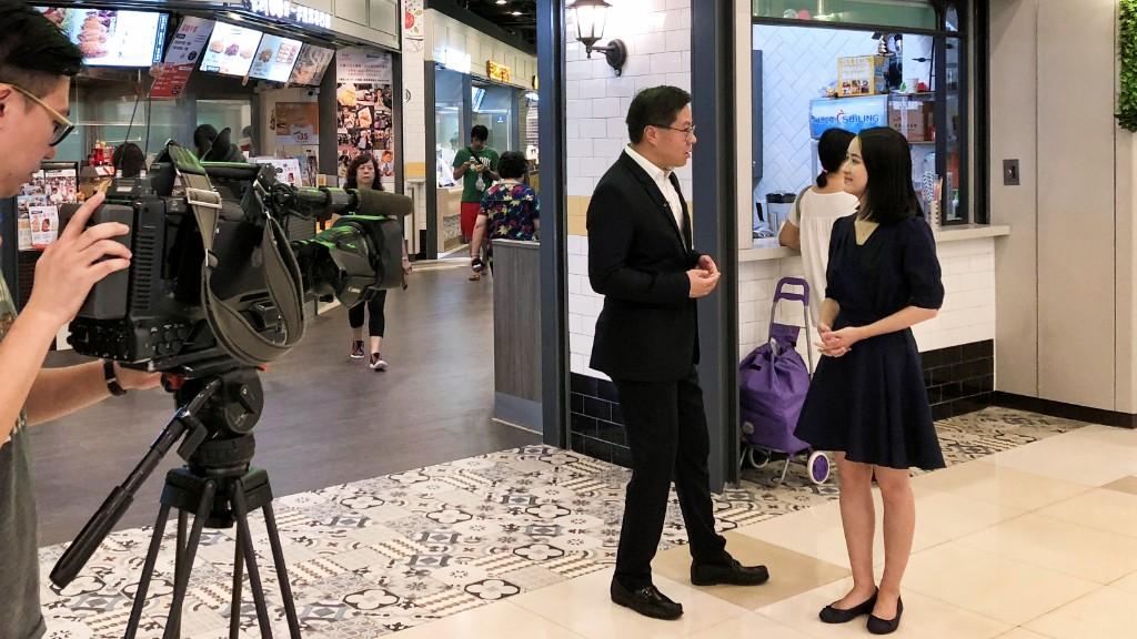 Eric Yau of Link REIT interviewed at TKO Gateway