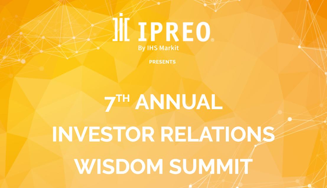 Ipreo IR Wisdom Summit